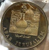 Yemen Gerusalemme 15 RIYAL Proof AH 1395 1975 Arab Jerusalem - Yemen