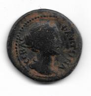 Bronze De Faustine II Frappé à Eucarpia En Phrygie - 3. Province