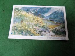VINTAGE TOPICS ART: MacWhirter Meadow Flowers Colour 1917 Tuck Oilette - Pittura & Quadri