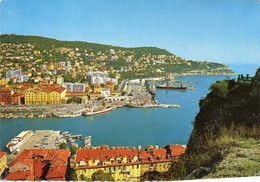 NICE - Le Port, Vue Sur Le Mont Boron - Navigazione – Porto