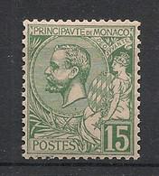 Monaco - 1920 - N°Yv. 44 - Albert 1er 15c Vert - Neuf Luxe ** / MNH / Postfrisch - Nuevos