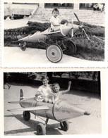 CHILDREN IN AIRPLANE 1960th - Luftfahrt