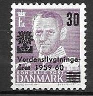 Denmark 1960 - Year Of Refugees - Neufs