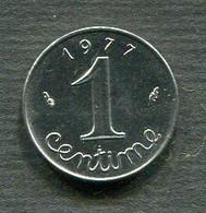 1 CENTIME 1977 SUP - A. 1 Centesimo
