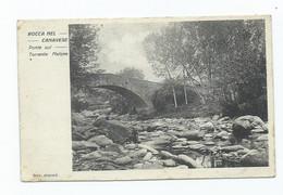 Italia Italy Turin Torino Rocca Canavese Pont Sul Torente Malone Posted1929 - Ohne Zuordnung