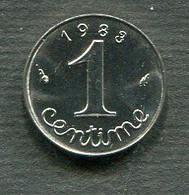 1 CENTIME 1983 SUP - A. 1 Centesimo