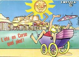 Sourire De Corse Lacombe L'été En Corse Quel Pied ! Corsica  RV - Zonder Classificatie