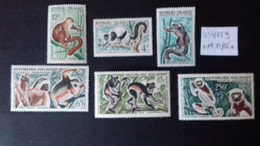 MADAGASCAR  357/359 + PA84/86** - Monkeys