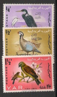 Yemen (YAR) - 1965 - N°Yv. 103 - 104 - 107 - Oiseaux - Neuf Luxe ** / MNH / Postfrisch - Non Classificati