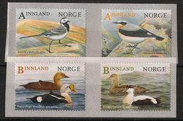 Norway - 2015 - N°Yv. 1833 à 1836 - Oiseaux / Birds - Neuf Luxe ** / MNH / Postfrisch - Non Classificati