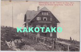 GRAZ - STUBENBERGHAUS AUF DEM SCHOCKEL , Austria , Old Postcard , Travelled - Graz