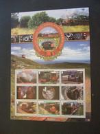 ISLE OF MAN 2010 TRAINWAYS AND TRAMS.   MNH ** (B04-700) - Isla De Man