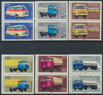 DDR 1982 / MiNr.  2744 - 2749  Senkrechte Paare    / MNH   (s493) - Nuevos