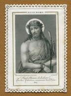 "IMAGE RELIGIEUSE : COMMUNION (dentelle) - "" ECCE HOMO "" - Images Religieuses"