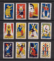 FRANCE  2017 Oblitéré :  Les Arts Du Cirque - KlebeBriefmarken