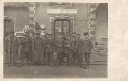78879- Foto Ak Juvigny-sur-Loison La Gare Bahnhof Um 1915 - Verdun
