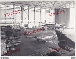 Au Plus Rapide Var BAN Hyères Base Aéronautique Navale Aéronavale Aviation Militaire Beau Format 18 X 24 Cm - Aviación