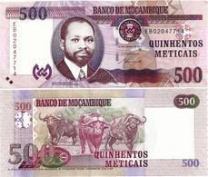 MOZAMBIQUE       500 Meticais       P-153a       16.6.2011       UNC - Mozambique
