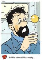 Tintin Vache Qui Rit Image 6 Espace Voyage Vers La Lune Capitaine Haddock Whisky - Sin Clasificación