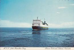Prince-Edward Island - PEI Canada - MVS John Hamilton Gray - Icebreaker Boat Ferry - Brise-Glace - Size 4 X 6 - 2 Scans - Andere