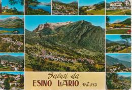 ESINO LARIO - VEDUTINE MULTIVUES - VIAGGIATA 1972 - Other Cities