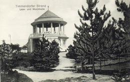 DC3892 - Ak Timmendorfer Strand Lese- Und Musikhalle - Timmendorfer Strand