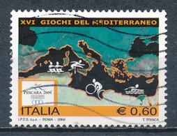 °°° ITALIA 2009 - 16° GIOCHI DEL MEDITERRANEO °°° - 2001-10: Oblitérés