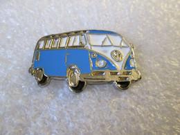 PIN'S   VOLKSWAGEN  COMBI   T 1  BLEU   Email A Froid - Volkswagen
