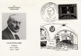 LA CINEMATHEQUE FRANCAISE LOUIS FEUILLADE à LUNEL HERAULT 1986 - Commemorative Postmarks