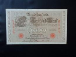 ALLEMAGNE * : 1000 MARK   21.4.1910    C.A.45g, ** / P 44b     SUP à SUP+ - 1000 Mark