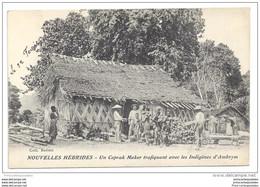 CPA Nouvelles Hébrides Un Coprah Maker Trafiquant Avec Les Indigènes D' Ambrym - Vanuatu