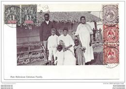 CPA Nouvelles Hébrides New Hebridean Christian Family - Vanuatu