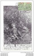 CPA Nouvelles Hébrides Un Couple Canaque - Vanuatu