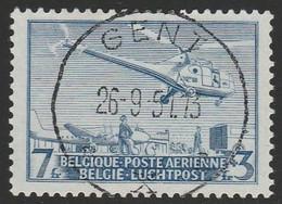 Luchtpost Lp 25 Sikorsky S 51  Oblit/gestp Centrale - Airmail