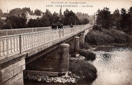 Villersexel Le Pont  Militaire à Cheval - Autres Communes
