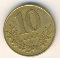 ALBANIA 2000: 10 Leke, KM 77 - Albanien