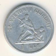 ALBANIA 1969: 1 Lek, KM 48 - Albanien