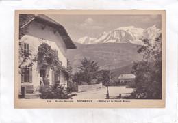 CPA :  14 X 9  -  DOMANCY.  -  L'Hôtel Et Le Mont-Blanc - Sonstige Gemeinden
