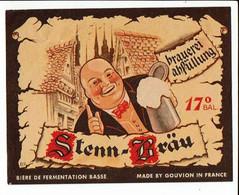 Ancienne étiquette Brasserie Gouvion à Anzin 59 - Cerveza