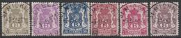 Dienstzegels    S 36 / S 41  Petit Sceau /Klein Staatswapen Oblit/gestp Centrale - Officials