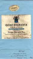 ETIQUETTE - Eti 5  -  Gevrey-Chambertin 1986. - Bourgogne