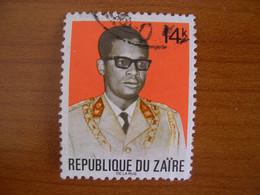 Zaïre Obl N° 818 - 1971-79: Gebraucht