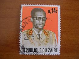 Zaïre Obl N° 828 - 1971-79: Gebraucht