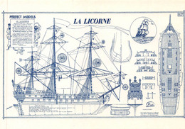 Tintin Carte Postale La Licorne, Assez Rare - Postcards