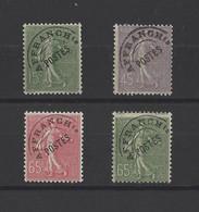 FRANCE.  YT  Préoblitérés  N° 45-46-48-49  Neuf **   1922 - 1893-1947