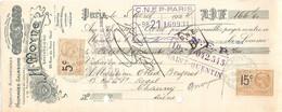 TRAITE 1924 - H. MOYNE Anc. MAISON SANTARSIERO 22 RUE DU PONT NEUF PARIS - TOMATES RÉDUITES DE NAPLES - TOMATE - Alimentare
