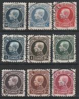 211/219 Petit Montenez/Kleine Montenez Oblit/gestp Centrale - 1921-1925 Small Montenez