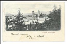 POSTCARD KLOSTER EINSIEDELN ,  INTERESTING POSTAGE , 1900 . - SZ Schwyz
