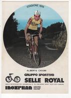 ALBERTO CAIUMI   SIGNEE SELLE ROYALE 1978 - Cycling