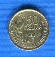 50  Fr  1954 B - M. 50 Franchi